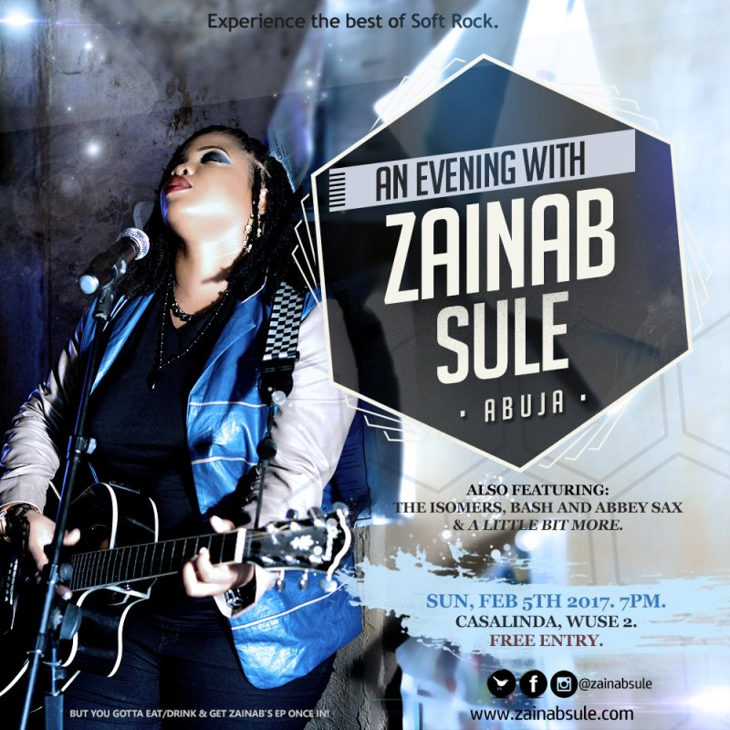 An Evening With Zainab Sule