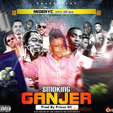 smoking ganjar