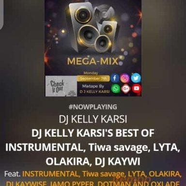 DJ KELLY KARSI'S MEGA-MIX